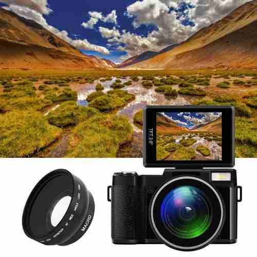 Camara Digital Profesional 1080 Full Hd 24mp 4x