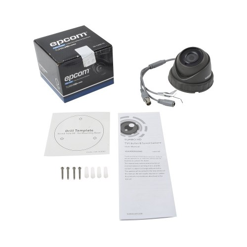 Camara Eyeball Epcom p Gran Angular 103º Metal 2 Mp