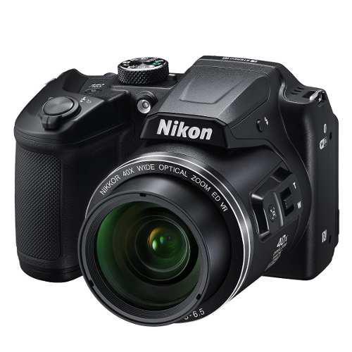 Camara Nikon Coolpix B500 16mp 40x Bt + Pilas Aa Recargables