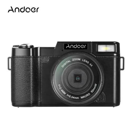 Cámara Andoer R1 1080p 15fps Full Hd 24mp Negra