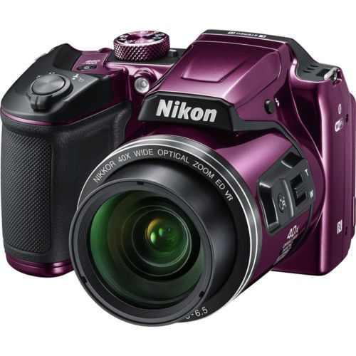 Cámara Digital Nikon Coolpix B500 Morado