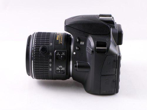 Cámara Digital Reflex Nikon D3300 24mpx Full Hd Envío