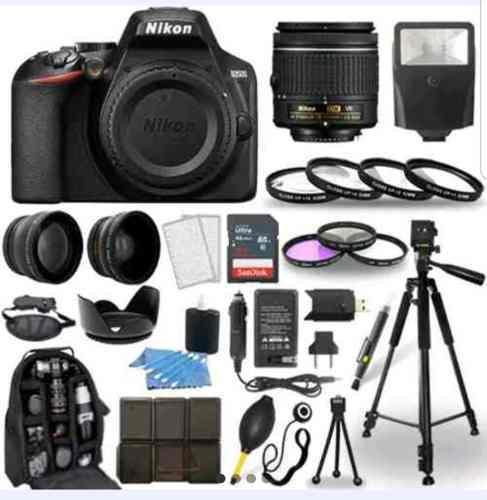 Cámara Nikon D3500 No D3400 D3200 Lente 18-55 Kit Wifi