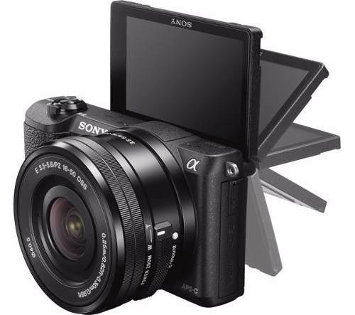 Cámara Sony A5100 Con Lente 16-50mm 24.3 Mp