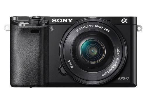 Cámara Sony A6000 + Lente E Pz 16-50 Mm F 3.5-5.6 Oss