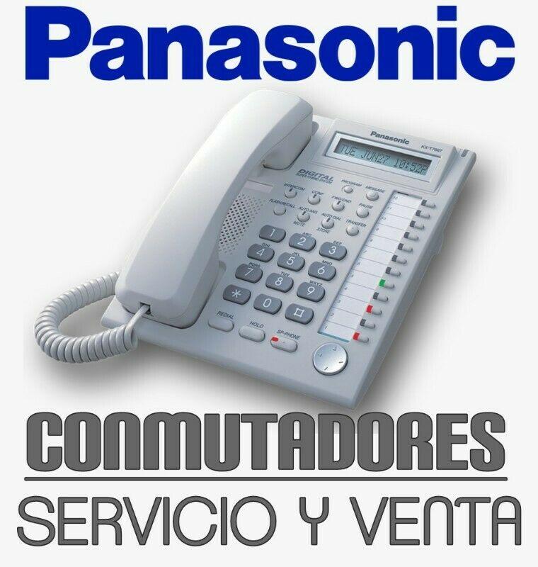 Conmutadores Panasonic Reparación y Mantenimiento