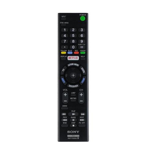 Control Remoto Para Smart Tv Sony Rmt-tx200 Original Netflix