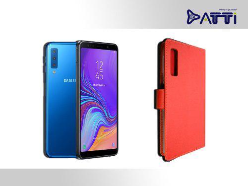 Funda Tipo Cartera De Lujo Premier Samsung A7 2018