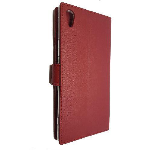 Funda Tipo Cartera De Lujo Premier Sony Xperia Xa1 Ultra