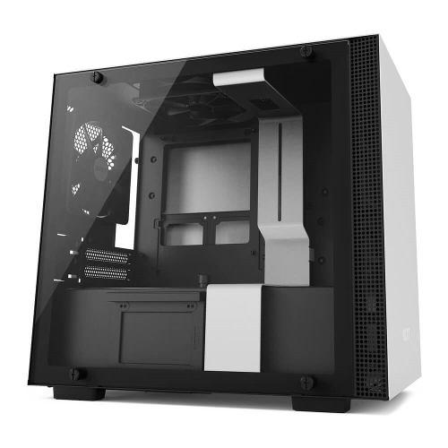 Gabinete Nzxt H200 Mini Itx Color Usb 3.0 Cristal Templado