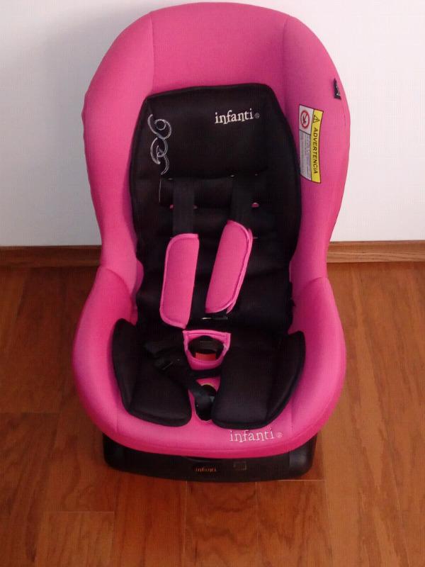 Hermosa y Segura Silla de Auto para Bebe Infantti.