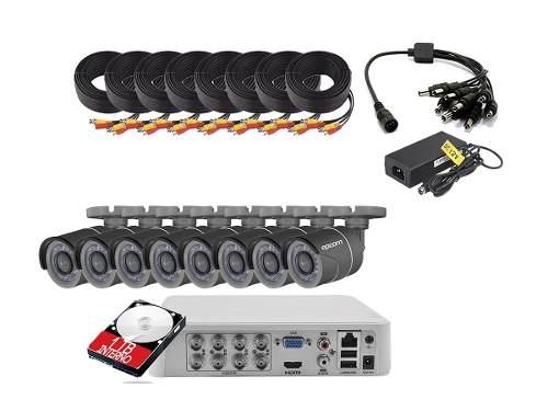 Kit Circuito Cerrado Epcom 8 Camaras 720p Lb7turbokit8p 1 Tb