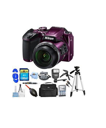 Kit Fotográfico Cámara Digital Nikon Coolpix B500