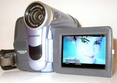 Panasonic Videocamara De Casset Mini Dv Mod Pu-gs9 Digital