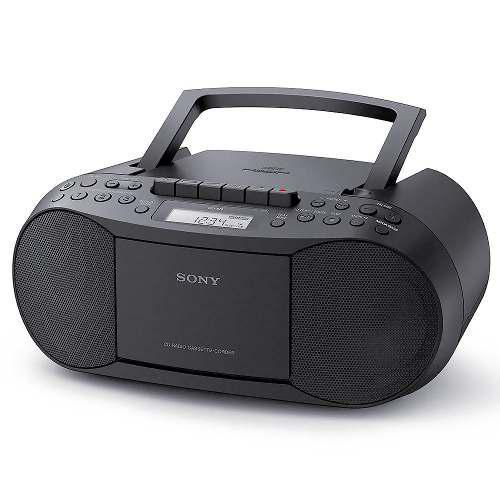 Radiograbadora Sony Cd Cassette Mp3 Am Fm Audio In Memoria