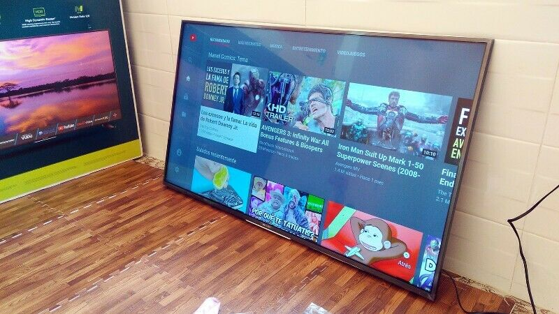 Tv Sharp Aquos NUEVA Smart 55 pulgadas 4k UltraHD