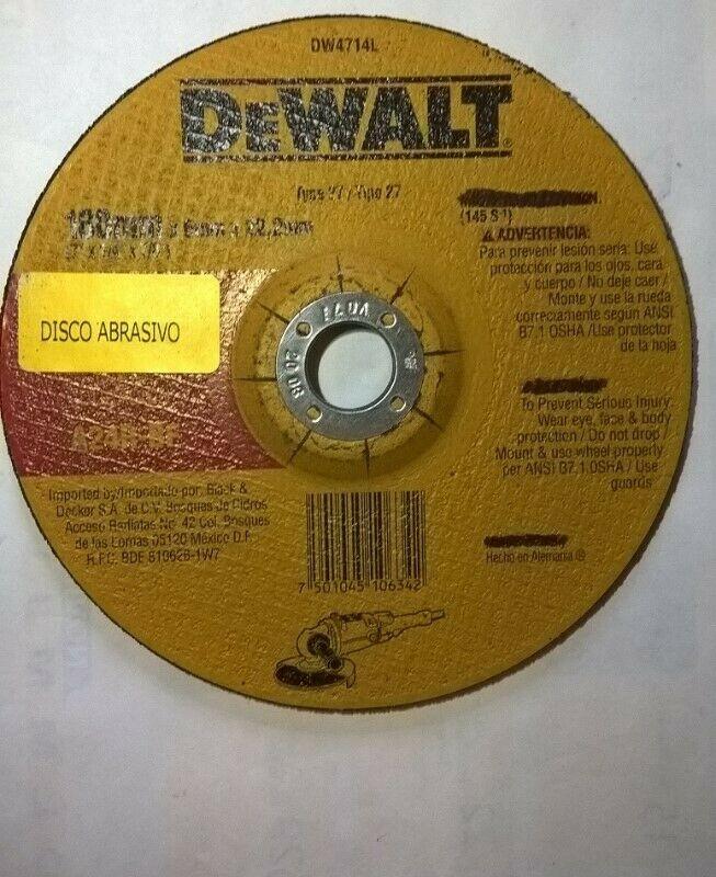 7Plg para Desbaste d metal alto rendimiento DEWALT