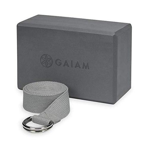 Bloque Para Yoga Ladrillo Esterilla Y Cinturon Gaiam Yogui