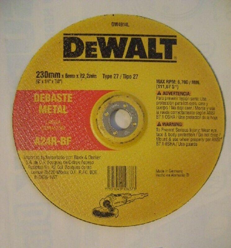 Disco para Desbaste de metal de alto rendimiento.