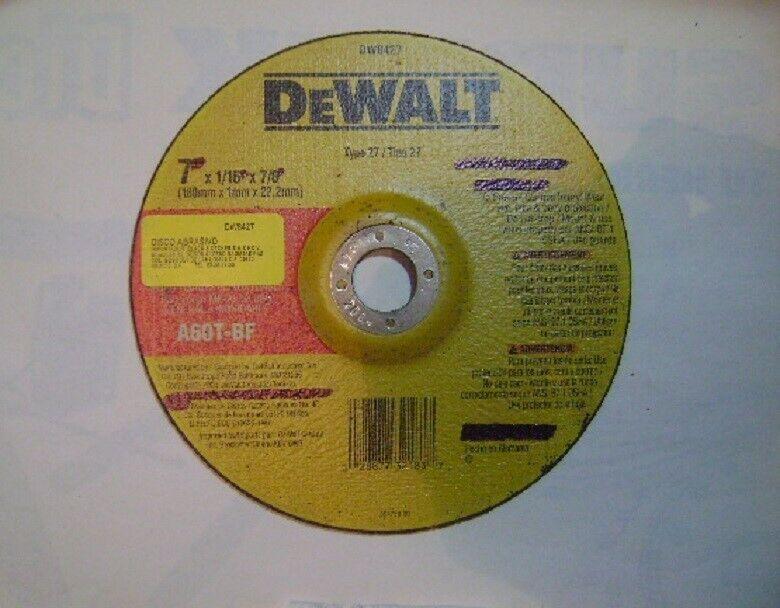 """Disco p/corte de acero inox 7"""" DEWALT"""