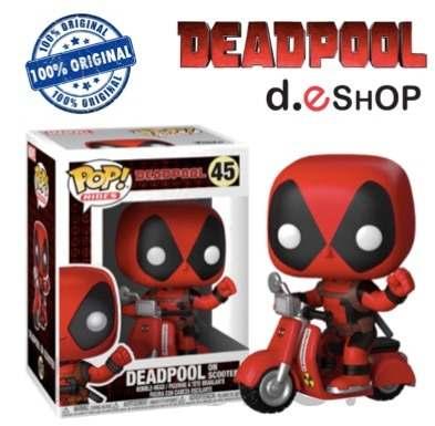Funko Pop Deadpool On Scooter 100% Original