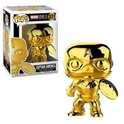 Funko Pop Marvel Iron Man Gold Original Nuevo Ven.nom