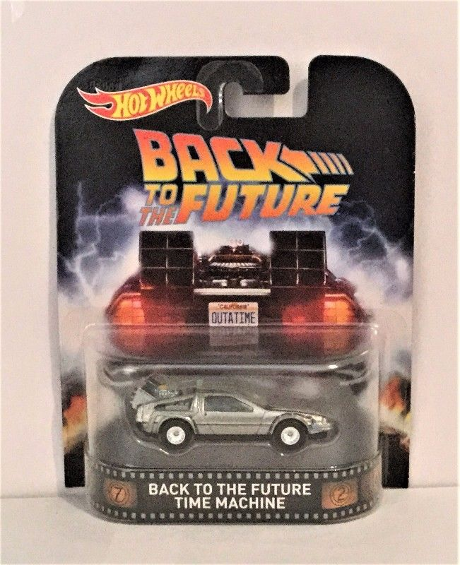 Hot Wheels Back to the Future Time Machine