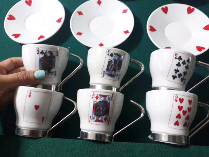 Juego de Té de Diseño cartas de Poker