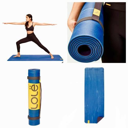 Tapete Para Yoga, Pilates, Lolé Azul 61x175cm 6mm