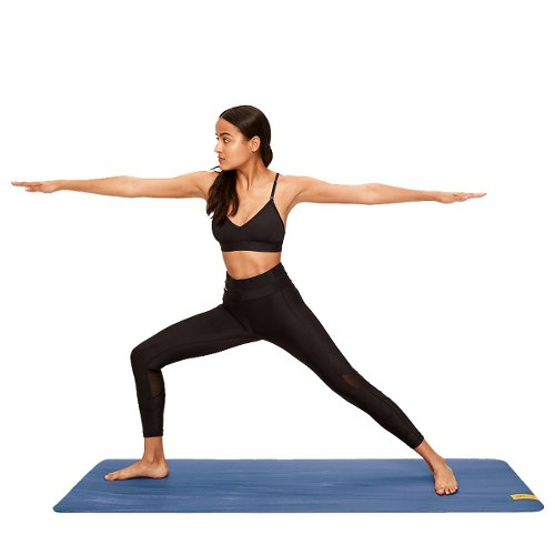 Tapete Para Yoga, Pilates, Lolé Azul 61x175cm 6mm Con