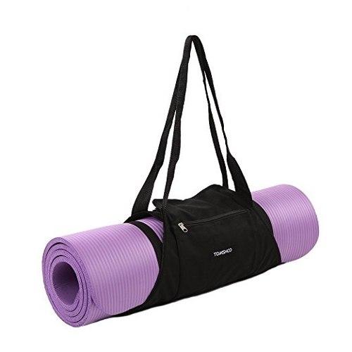 Tomshoo Yoga Mat Carrier Ejercicio Bolso Mat Bolsa Para Gym