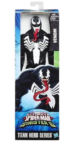 Venom Figura 30cm Spiderman Hombre Araña Titan Hero Series
