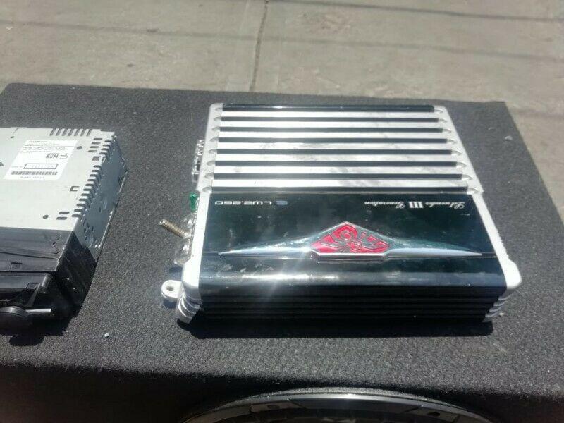 Venta de equipo de audio