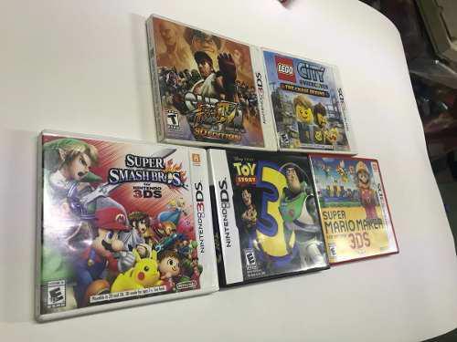 5 Juegos Para Nintendo 3ds Buen Estado Con Caja