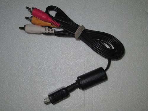 Cable De Video Original Ps1 Ps2 Ps3 Sony Envío Gratis
