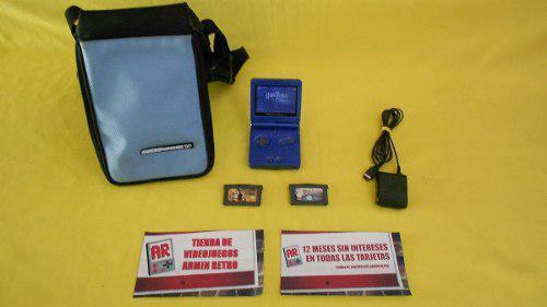 Consola Nintendo Gameboy Advance Sp *azul* Para Dia Del