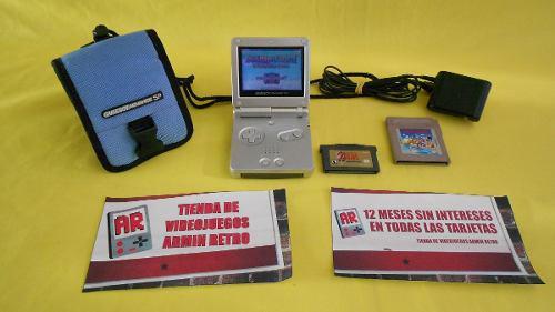 Consola Nintendo Gameboy Advance Sp *gris* Para Dia Del