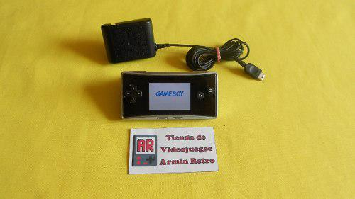 Consola Nintendo Gameboy Micro Con 2 Juegos A Escojer
