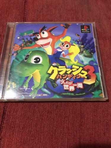 Crash Bandicoot 3 Psone (japones)