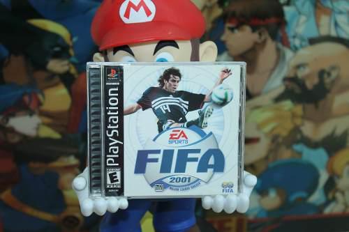 Fifa 2001 Playstation 2 Completo En Excelentes Condiciones.