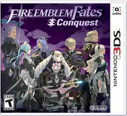 Fire Emblem Fates Conquest Nintendo 3ds Nuevo Y Sellado Msi
