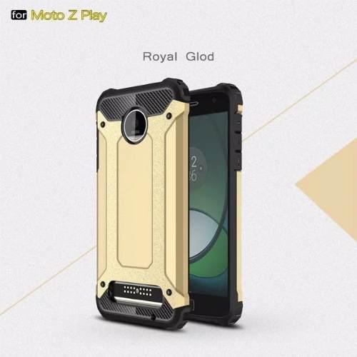 Funda Case Híbrido Para Moto Z1 Play (2016) Envío Gratis
