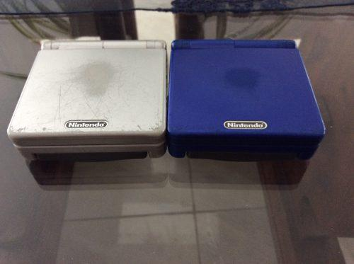 Game Boy Advance Con Juegos Color A Escoger (azul O Plata)