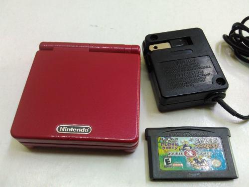 Game Boy Advance Sp Rojo1 Luz