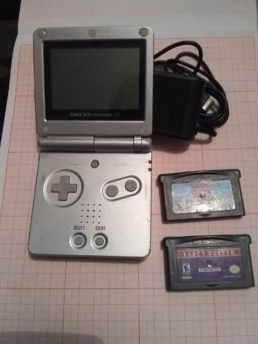 Game Boy Advanced Sp Con Mario Kart Y Super Mario World