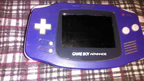 Gameboy Advance Con Tapa Y Juego No Sirve Sonido