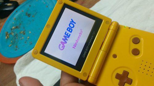 Gameboy Advance Sp Pikachu Edicion