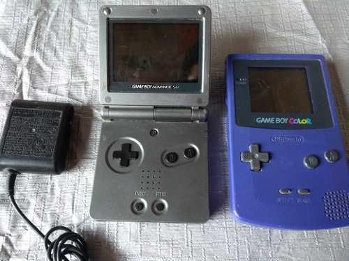 Gameboy Color Y Gameboy Advance Gbc Gba Pokémon Mario Dkc