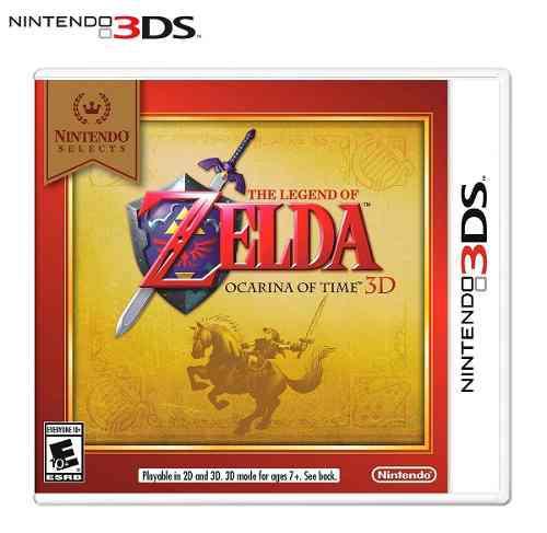 Juego Físico Zelda Ocarina Of Time Nintendo 3ds 2ds Sellado