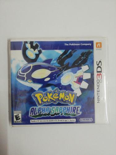 Juego Pokemon Alpha Sapphire Nintendo 3ds Nuevo Original